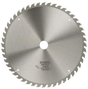 Bosch 2609256883 Précision Lame de scie circulaire 48 dents carbure Coupe nette Diamètre 300 mm alésage/alésage avec bague de réduction 30 Largeur de coupe 3,2 mm