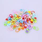 #5: iDream® Knitting Crochet Locking Counters Stitch Markers (Pack of 100)