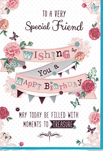 Descargar PDF Gratis Friend Birthday Card ~ To A Very Special Friend