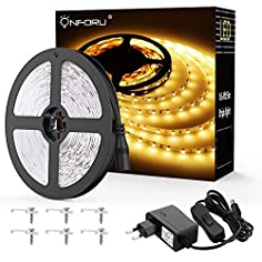 Onforu 5M LED Strip mit...