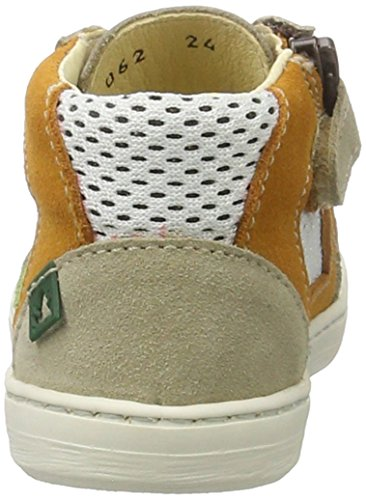 El Naturalista Kids PAN EU Kepina, Sneakers Basses Mixte Enfant Multicolore (Piedra)