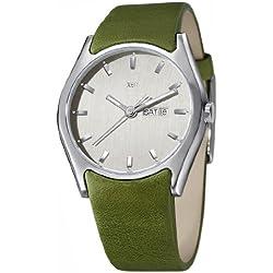 XEN Herrenuhr grün XQ0239