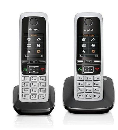 Gigaset C430 / C 430 DUO schwarz mit insgesamt 2 Mobilteilen
