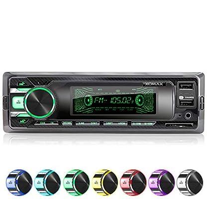 XOMAX-XM-RD269-Autoradio-mit-integriertem-DAB-Tuner-FM-RDS-Bluetooth-Freisprecheinrichtung-USB-SD-MP3-AUX-IN-incl-DAB-Antenne1-DIN