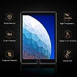 ESR Displayschutzfolie aus gehärtetem Glas für iPad 10.2 2019 (7. Generation)/iPad Air 3/iPad Pro 10.5 [kostenloser Einbaurahmen] [Kratzfest] HD Klar Premium Displayschutzfolie aus gehärtetem Glas