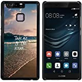 "FJCases ""Take Me To The Ocean"" Verano Frase Carcasa Funda Rigida para Huawei P9"