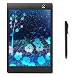 WearPai 9.7-Inch LCD Writing Tablet Colorful Graphics Drawing and Writing Board Digital Handwriting Pad for Kid Gift, Elder Message Board,Family Memo and Office Writing Notebook (Black)