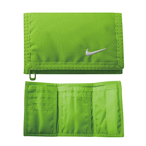 Nike Erwachsene Basic Wallet Geldbeutel, Voltage Green/White, One Size