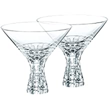 Spiegelau & Nachtmann, 4-teiliges Martini-Set, Kristallglas, 340 ml, Bossa Nova, 078531-0
