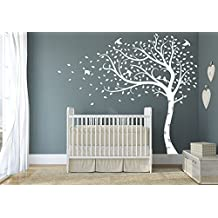 stickers arbre blanc. Black Bedroom Furniture Sets. Home Design Ideas
