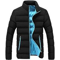 Insulated Jackets Waterproof Work Jacket Rain Coats For Mens Golf Padded Jacket Lightweight Warm Packable Puffer Bubble…