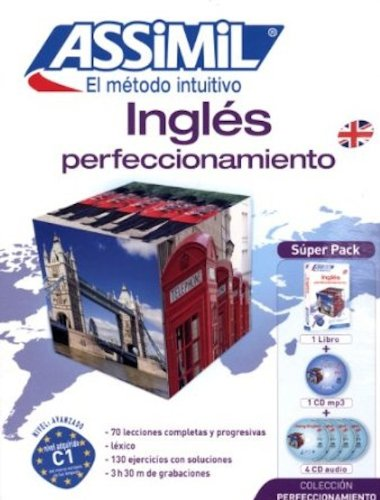 Súper Pack: Inglés Perfeccionamiento ( + CD MP3 + 4 CDs Audio) (Perfezionamenti)