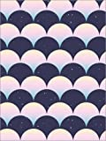 Forex-Platte 100 x 130 cm: Pastell Wellen von Editors Choice