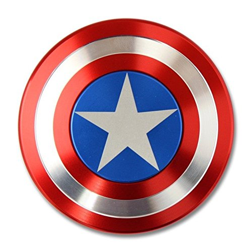 Captain-America-Shield-Metal-Hand-Spinner-Fidget-Stress-Reducer-Anti-Anxiety-for-Children-Adults