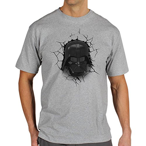 Star Wars Battlefront Jedai Yedi Game Darht Veider At Wall Background Herren T-Shirt Grau