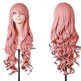 ZYUEER Heiß Perücken Frauen Wigs Perücke Cosplay Party Farbige Haare