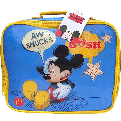 Garçon-Bleu-Disney Mickey Mouse-Sac déjeuner à l'école