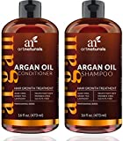 ArtNaturals Arganöl Shampoo und Conditioner Set - (2 x 16 Fl Oz / 473ml) - Haarwuchs Anregend - Haarwachstum beschleunigen - Organische Inhaltsstoffe - Sulfat-frei