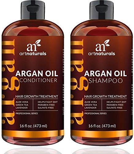 Avocado-Öl Mayonnaise (ArtNaturals Arganöl Shampoo und Conditioner Set - (2 x 16 Fl Oz / 473ml) - Haarwuchs Anregend - Haarwachstum beschleunigen - Organische Inhaltsstoffe - Sulfat-frei)