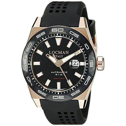 Locman montre homme Stealth automatique 0215V5-RKBK5NS2K