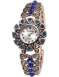 French Loops Old World Elegance Designer Watch For Women's & Girls (528).