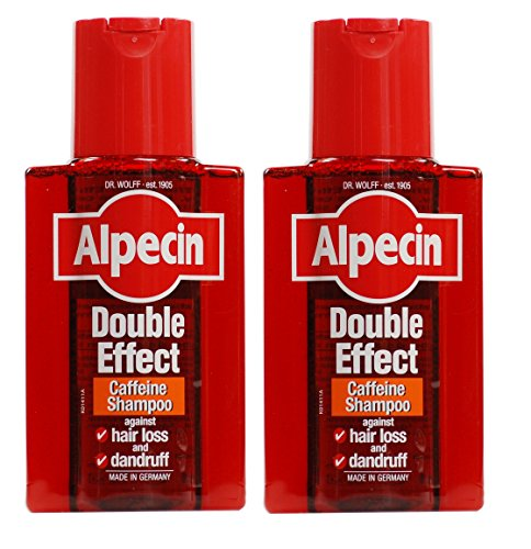 Alpecin Doppeleffekt-Shampoo 200ml–2Stück