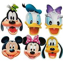 Disney - MULTI PACK - Card Face Masks
