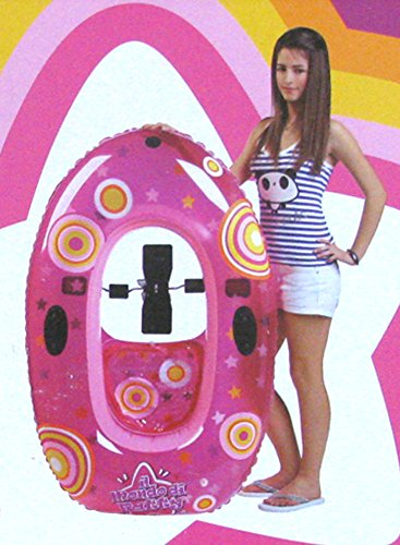 Idea estate: Canotto Il Mondo di Patty gommone gonfiabile con pedalò per gioco mare spiaggia piscina; dimensioni cm 135*90