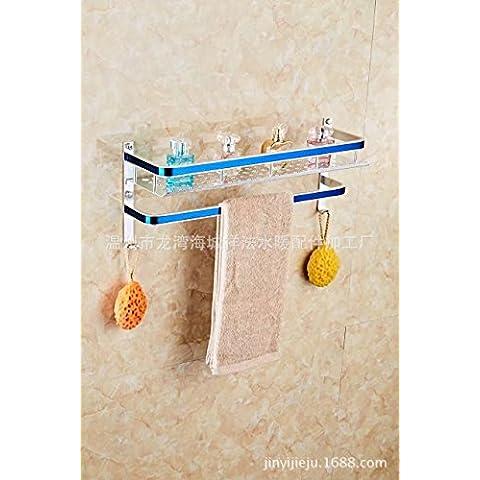 Asciugamano da bagno Bar Bagno in acciaio inox Mensola a muro Rack asciugamano pensili stile contemporaneo portasalviette? scaldasalviette Rail