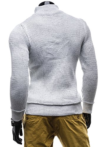 BOLF – Pull – Tricot – CE&CE 618 – Homme Blanc