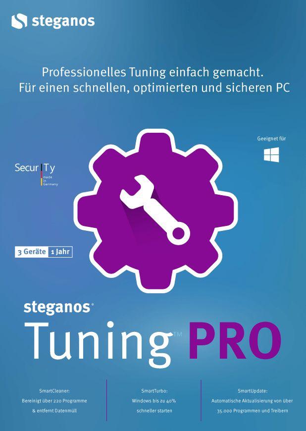 Steganos Tuning PRO - Professionelles Tuning leicht gemacht! Windows 10|8|7 [Download] (Windows 7 Treiber Download)
