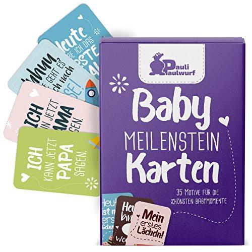 Baby Meilenstein als Geschenk zur Geburt, Schwangerschaft, Taufe 4