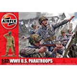 Airfix A02711 WWII US Paratroopers 1:32 Scale Series 2 Plastic Figures