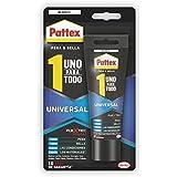 Pattex 2089248 - Uno para todo universal, cartucho (142 gr), color blanco