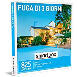 SMARTBOX - Cofanetto regalo coppia- idee regalo originale - 3 giorni Riposante momenti con un weekend fuoriporta