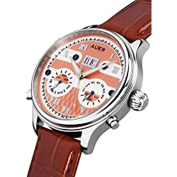 AUER Classic Collection BA-513-RSBrL Automatic Mens Watch Classic & Simple