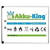 Akku-King Akku für Sony-Ericsson K800i, K530i, K550i, K630i, K660i, K800i, K810i, P990i, W850i - ersetzt BST-33 - Li-Ion