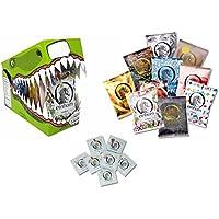 Preisvergleich für Kondome–Einhorn Box–70Kondome Kondome in Box Krokodil–10Packungen 7Stück–Vegan–lubrificai–getestet...