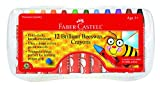 Best Beeswaxes - Faber and Castell 12 Count Brilliant Beeswax Crayons Review