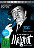 Kommissar Maigret, Vol. 2 / Weitere 9 Folgen der legendären Kultserie mit Rupert Davies nach dem Romanen von Georges Simenon (Pidax Serien-Klassiker) [3 DVDs]