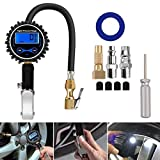 Techtest Digital Tire Inflator with Pressure Gauge 200 Psi Air Chuck and Compressor