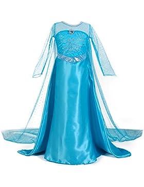 [Sponsorizzato]Le SSara Natale Cosplay ragazze lungo Cape Snow principessa abito costumi