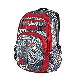 Nitro Chase Pack | großer trendiger Rucksack Tasche Backpack | Fassungsvermögen 35 L | Farbe: Broken Palms | mit gepolstertem Laptopfach und weiteren tollen Features