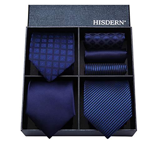 Hisdern Lot 3 PCS Cravate Homme ...