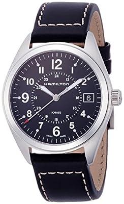 Hamilton Men's Analogue Quartz Watch with Leather Strap H68551733