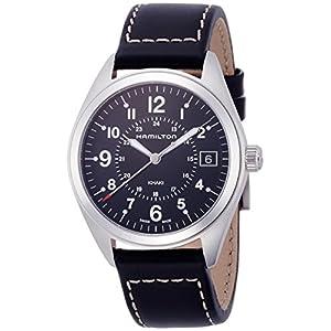 Hamilton Reloj Analogico para Hombre de Cuarzo con Correa en Cuero H68551733