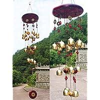 Cinese tradizionale stupefacenti 18 campane di bronzo 90cm Yard Garden Outdoor Living Windchimes può portare buona fortuna e ricchezza a te