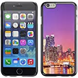 FJCases NY Ciudad de Nueva York Estados Unidos Horizonte Postal Carcasa Funda Rigida para Apple iPhone 6 Plus / iPhone 6S Plus