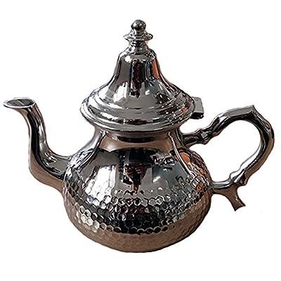 Théière marocaine au décor martelé Taille M