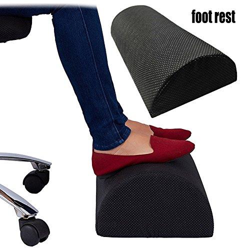 Fußstütze Kissen zur Linderung von Knieschmerzen, müde, schmerzende und schmerzende Füße. Reduzieren Sie tiefe Venenthrombose. Anti-Rutsch-Abdeckung, Fit für Büro und Zuhause